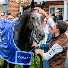"""British Champions Series on Instagram: """"#OTD in 2018 the great ROARING LION 🦁 triumphed in a gripping Coral-Eclipse @sandownparkracecourse"""""""