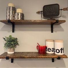 Black Iron Shelf Bracket | Etsy Iron Shelf, Great Wedding Gifts, Shelf Brackets, Old World, Floating Shelves, Modern Design, Etsy, Furniture, Black