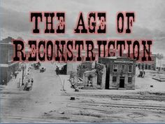 evaluating reconstruction interactive project perspective  reconstruction era powerpoint lesson