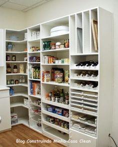 Despensas de Cozinhas Lindas!!! Veja 10 Dicas de Organiza��o!