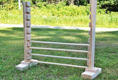 Probably can't use these with a chinchilla, but who knows, they are smart little fur babies!  Handcrafted Rabbit Jump Agility Hurdle - Smallpetselect