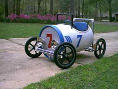 44 Gallon Drum Pedal Car