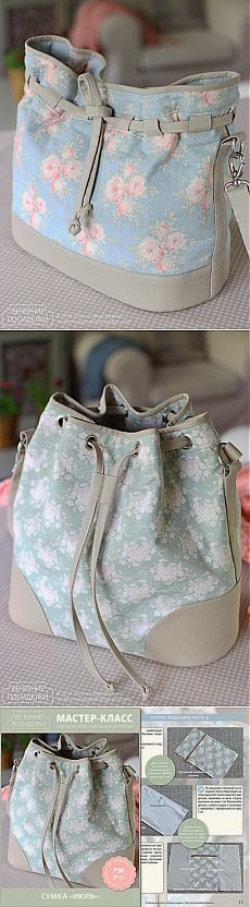 This would be a great project bag for knitting/crochet!