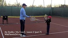 Kids Tennis Lesson (live) - part 7 - how to teach tennis to little kids ...