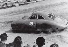 The first Porsche race car