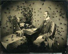 Vintage Scientist Photography