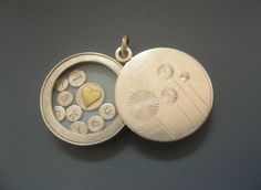 Silver locket Thank You Mothers day by mabotte on Etsy, €175.00