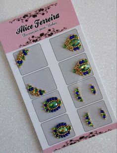 Nail Jewels, Embroidery Designs, Frame, Jewelry, Bling Nail Art, Nail Tutorials, Nail Arts, Brush Pen, Perfect Nails