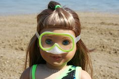 Arts and Crafts for your American Girl Doll: Mask for American Girl Doll
