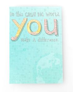 You Make A Difference | Pick 2 Favorites for $24. DaySpring's Most Beloved Cards