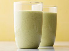 Green Morning Smoothie #myplate #dairy #starch #fruit