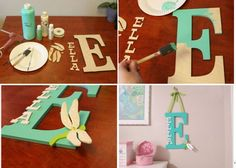 #diy Wooden Monogram