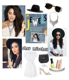 """Pretty little liars gal"" by neonaila on Polyvore featuring Études, J.Crew, Miguelina, Diane Von Furstenberg, Kate Spade, Charlotte Tilbury and Assya London"
