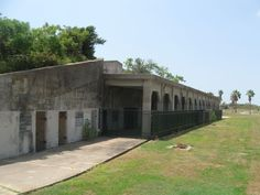 Gun Bunkers at Fort Travis on Bolivar Peninsula Texas. Texas History for all to enjoy and see. #texas #day #trip