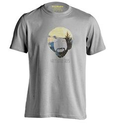 Bob Ross Remixed Happy Little Clouds Personalized T Shirt…