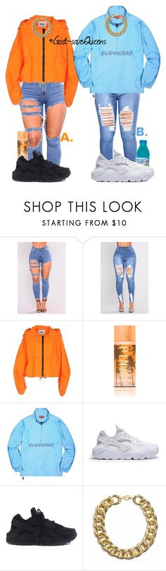 Contest by god-savequeens on Polyvore featuring MSGM, NIKE and Victoria's Secret