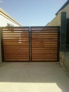 Image detail for -Fence Gates - Wrought Iron or Cedar Garden Gate