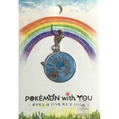 Pokemon Center 2016 Pokemon With You Campaign #5 Glaceon Charm