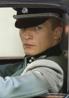 While Dietrich became an SS officer, his elder brother Wolfrik became a high ranking Army officer and a member of the dreaded Gestepo Rupert Friend, German Boys, German Army, Boy In Striped Pyjamas, Indian Army Special Forces, Iraqi Army, Berlin Photos, German Soldiers Ww2, Aesthetic People
