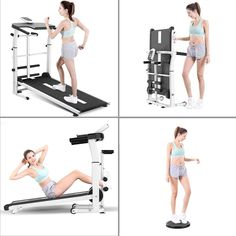 """""""Highlight Features/Reviews"""" Sheralin9 Non-Electric Treadmill, Slope Adjustment Design, Three-in-one Multifunctional Walking Machine, from Overall to Partial Exercise, for Adults Office Worker #Sheralin9NonElectricTreadmill #Sheralin9 #NonElectricTreadmill #ElectricTreadmill #Treadmill #MultifunctionalWalkingMachine #WalkingMachine #ExerciseMachine Home Gym Exercises, Gym Workouts, At Home Workouts, Workout Machines, Exercise Machine, Electric Treadmill, College Dorm Essentials, Yoga Equipment, Different Exercises"""