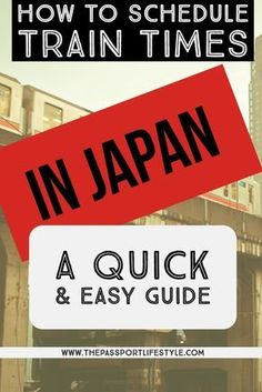 ESSENTIAL JAPAN TRAVEL GUIDE: Learn HOW TO to schedule trains around Japan using Hyperdia. Calculate your routes around Tokyo, Kyoto, Hokkaido, Nagano, Osaka and more easily! | thepassportlifestyle.com