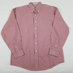 Nwt daniel cremieux signature egyptian cotton stripe shirt for Ll bean wrinkle resistant shirts