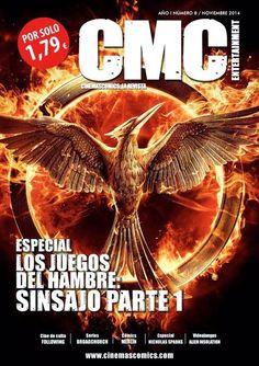 Afición por y para el cine: Katniss lidera la rebelión en el número 9 de 'CMC ...