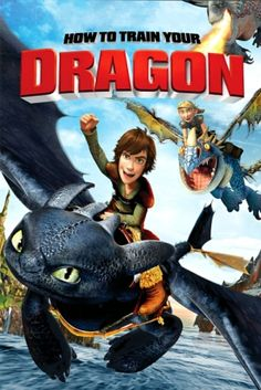 Poster Of How to Train Your Dragon (2010) Full Movie Hindi Dubbed Free Download Watch Online At all-free-download-4u.com