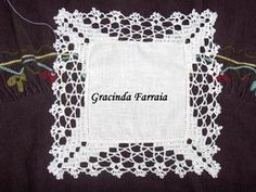 learn how to crochet the Magia Do Crochet, Crochet Diy, Learn To Crochet, Basic Embroidery Stitches, Hand Embroidery, Filet Crochet, Bob Ross, Chrochet, Lace Trim