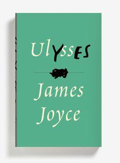 Peter Mendelsund's cover design for James Joyce's Ulysses. Vintage Books.