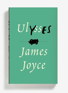 James Joyce, Ulysses. Design: Peter Mendelsund