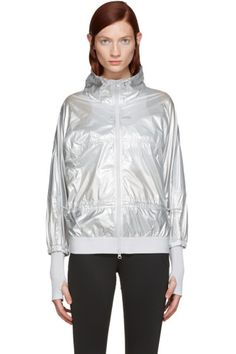 adidas by Stella McCartney - Silver Run Metal Jacket