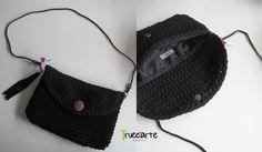 Bolso Negro hecho a mano / Black Bag handmade