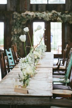#rustic #tablescapes Photography by loftphotographie.com Event Coordination by coordinatethis.com Floral Design by petalpushers.us Venue by vistawestranch.com  Read more - http://www.stylemepretty.com/2013/07/16/austin-wedding-from-loft-photographie/