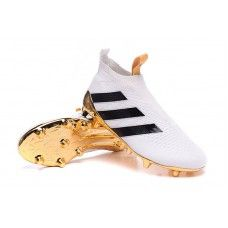 differently 48f9a 21d0f adidas Ace 16 PureControl White-Black-Metallic Gold cheap football shoes Adidas  Ace 16