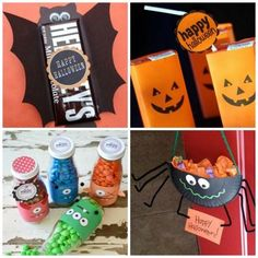 Trick or Treat: Kids will love making these 20 Halloween Candy Craft Ideas!