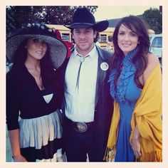 Christian Kane w/2 Film Extras for the movie 50 to 1