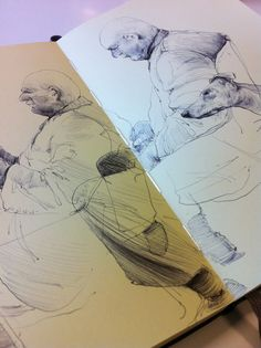 Brian Jarrell Life Drawing, Drawing Sketches, Art Drawings, Sketching, Moleskine, Artist Journal, Sketchbook Pages, Sketchbook Inspiration, Book Illustration