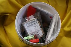 Contents of  the cache at the time of hiding.