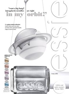 Essie Galaxy Metals Holiday 2017 Collection – Beauty Trends and Latest Makeup Collections | Chic Profile