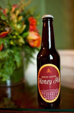 Image: A bottle of home-brewed White House Honey Ale beer. Gotta see if I can find one of these when I go in Feb