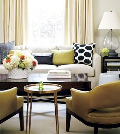 Beautiful room.  LIkes the blues, greens and oranges