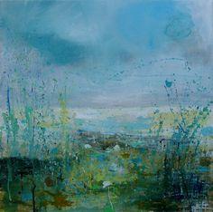 """Saatchi Online Artist Sandy Dooley; Painting, """"Winter Green"""" #art"""
