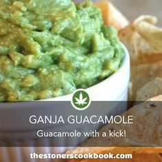 Ganja Guacamole from the The Stoner's Cookbook #Mbox #420 #Clubm