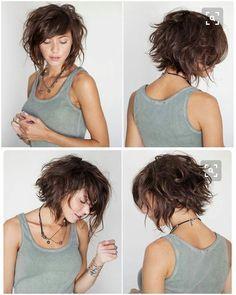 Latest Short Haircuts, Layered Bob Haircuts, Layered Bob Hairstyles, Cool Hairstyles, Braid Hairstyles, 1950s Hairstyles, Hairstyles Haircuts, Hairstyle Ideas, Long Haircuts