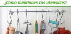 ¿Sabías que sólo usas el 20% de los utensilios un 80% de las veces? Cualquier utensilio o cubierto que no se utiliza durante la semana en la cocina debe ser limpiado y almacenado para ahorrar espacio en las gavetas, así como tiempo de limpieza.