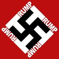 My collection of Donald Trump (Nazi) logos (with a few good Hitler quotes as an added bonus) Dumb And Dumber, In This World, Just In Case, Donald Trump, Hate, At Least, Shit Happens, Sayings, Illustration