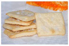 Galletas saladas tipo crackers. Receta con fotos del paso a paso.
