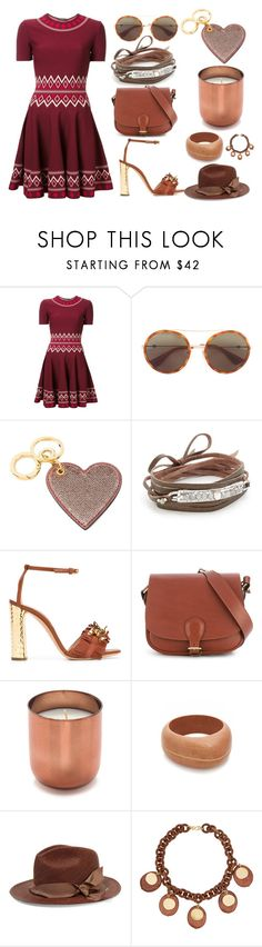 """Stylish way"" by gadinarmada-1 ❤ liked on Polyvore featuring Alexander McQueen, Gucci, Burberry, Chan Luu, Casadei, Alexandre Mareuil, Jonathan Adler, Aurélie Bidermann, Sensi Studio and Kenneth Jay Lane"