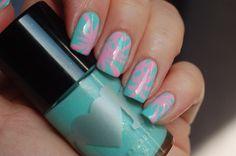 Katy Perry dress  inspired nail art for  nail art fashion week 2015  DorothyNailAssay   Des vernis, de la musique, des tests et des expérimentations à tout va!